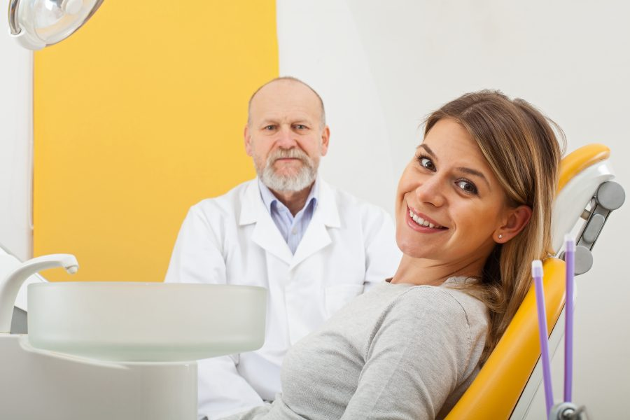 Dental treatment at the perfect smile
