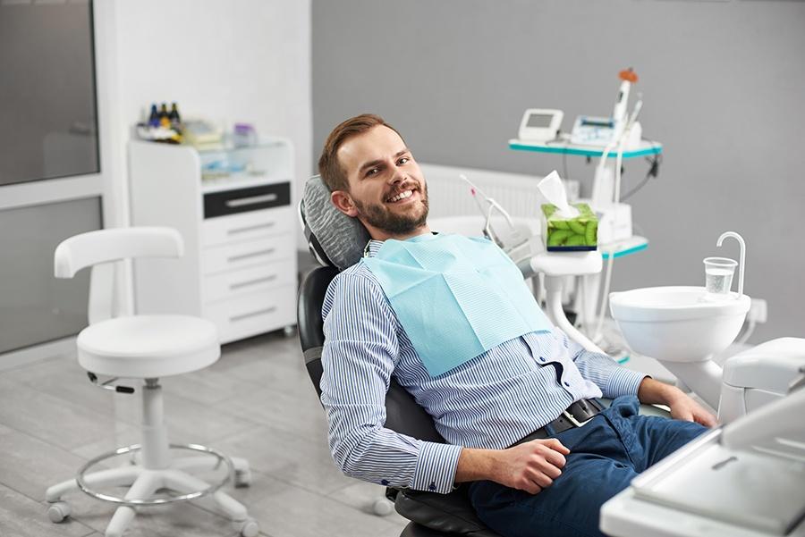 Dental patient having implant dentistry